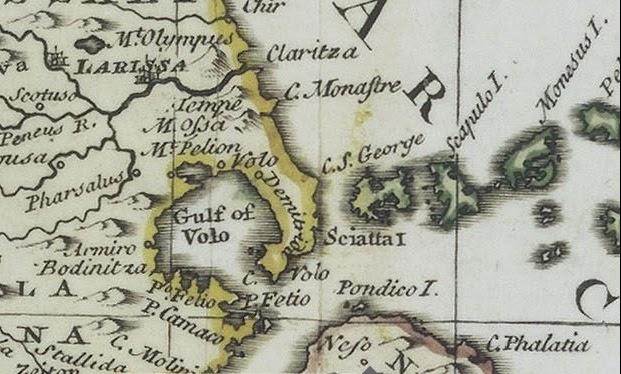 Πήλιο map